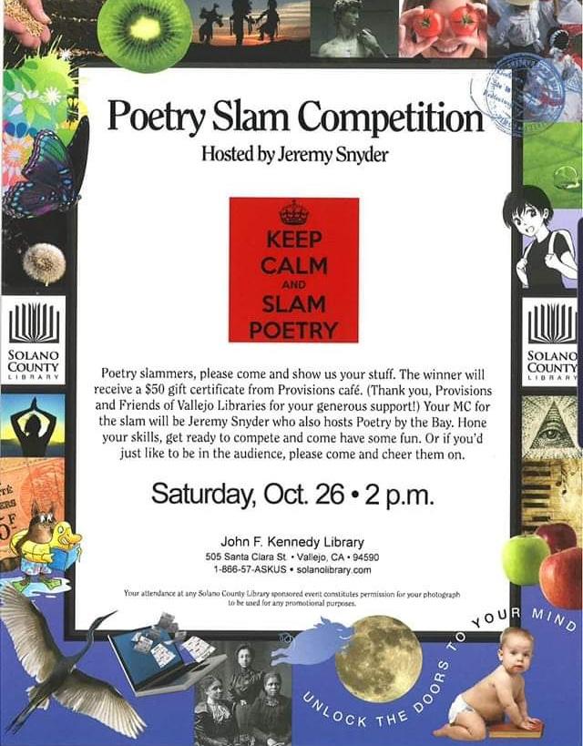Vallejo Poetry Slam