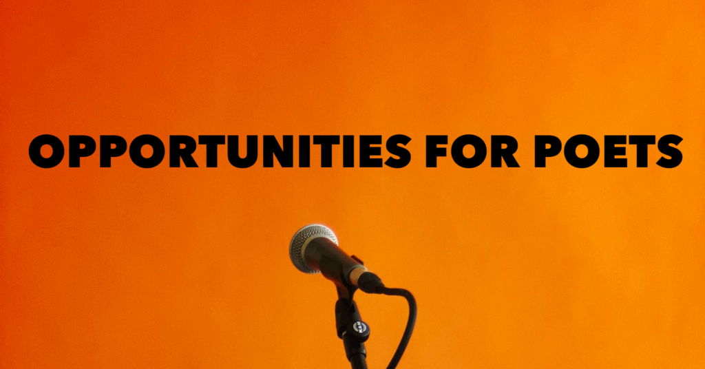 Opportunities for Poets